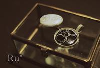 白磁と銀粘土を使ったシルバーオーバーレイの講習に行ってきましたー! - Silver clay Ru*  手軽にできるシルバーアクセサリー