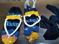 布草履作りかけ - うまこの天袋