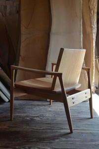 イージーチェア - 家具工房モク・木の家具ギャラリー 『工房だより』