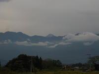 山に初雪 - 冬青窯八ヶ岳便り