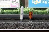 花小金井駅 西武新宿線 18kmポスト - Fire and forget
