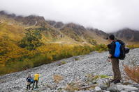 黄葉の岳沢へ - ぶらり休暇