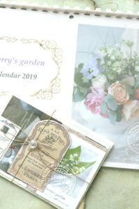 2019cherry's garden オリジナルカレンダーのご案内 - cherry's garden