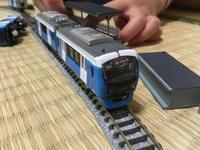 雨の日、静岡鉄道A3000型Bトレインショーティーで遊ぶ息子たち。 - 子どもと暮らしと鉄道と