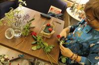 ベーシックレッスンとハーバリウムワークショップご報告 - 北赤羽花屋ソレイユの日々の花