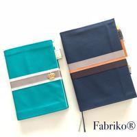 レザーで作る簡単手帳カバー - Fabrikoのカルトナージュ ~神戸のアトリエ~