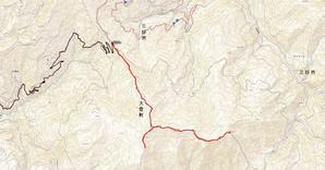 土佐矢筈山と 本当の小檜曽山 京柱峠から - おじょもの山のぼり                ohara98jp@gmail.com
