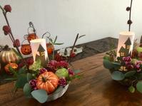 今月のフラワーアレンジレッスン♬ - coco diary 山口県 お花と絵と楽しいティータイム