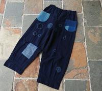 刺し子パンツ - 古布や麻の葉