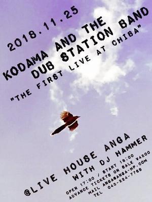 2018/11/25「KODAMA AND THE DUB STATION BAND」千葉 ワンマン - 【echo-info】こだま和文 from DUB STATION