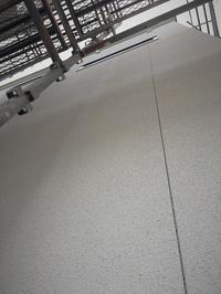 《No.18 I様》外壁の仕上がり、内壁のパテ処理 - hiro making blog