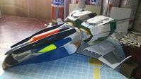 今日のザンジバル級機動巡洋艦 - Hyper weapon models 模型とメカとクリーチャーと……