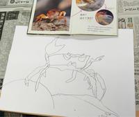 ▲小学校一年生の男の子の作品です - びぶらびアートスクール