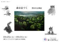 さっぽろ東急百貨店プレミアムスクエアで「森は息づく増田寿志個展」が25日から始まります。 - いぷしろんの空