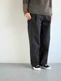 THE HINOKIEasy Pants - C/W Horse Cloth / Black - 『Bumpkins putting on airs』