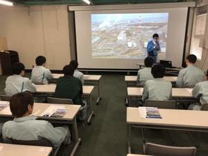 八戸火力発電所見学 - 青森技専校の訓練日誌
