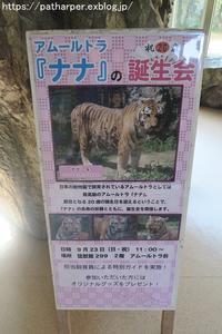 2018年9月日本平動物園その1ナナ20歳の誕生会 - ハープの徒然草