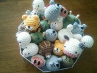 小さな編みぐるみ山盛りです - mattarieの種。