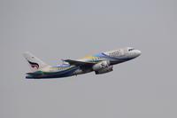 香港国際空港観景山から撮ったR/W07R離陸機⑤ - 飛行機&鉄道写真館