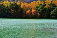湯ノ湖紅葉 - 風の香に誘われて 風景のふぉと缶