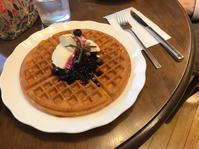 【紅茶専門店・ディンブラのワッフル】 - お散歩アルバム・・Sandwich Days