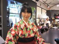 Isetan YUKATA Style ゆかたで楽しむ新宿の街2018新宿伊勢丹 - デジタル美人
