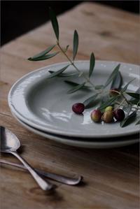 9寸リム皿 - なづな雑記