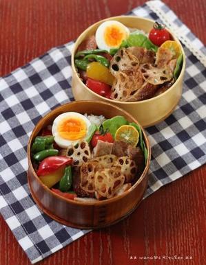 シークヮ-サーをきゅっと絞って(๑¯﹃¯๑)ポークソテー ❤ 沖縄そばの日♪ - **  mana's Kitchen **