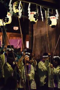 秋祭り - ホンテ島 日記