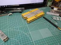 グリーンマックスの♯1233T 西武新2000系 前期型(前面貫通扉窓 小)トータルセットを組んでみる   ケースに収納 - Sirokamo-Industry