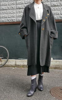 CHANEL WOOL COAT - carboots