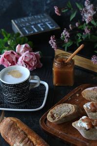 キドヤさんのパンで朝ごはん - ゆきなそう  猫とガーデニングの日記