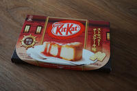 キットカット★ストロベリーチーズケーキ味 - そらたび