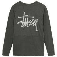 Basic Stüssy Pigment Dyed L/SL Tee - trilogy news