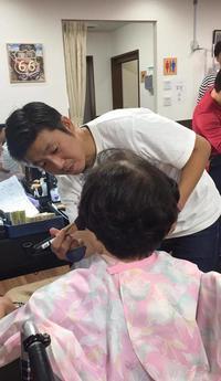 NPOふくりび主催ビューティーキャラバンに参加しました☆デイサービスで利用者さまのおしゃれ支援ボランティア! - 三重県 訪問美容/医療用ウィッグ  訪問美容髪んぐのブログ