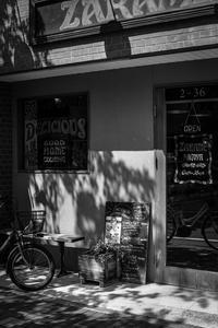 朝のカフェで憩う光蜥蜴 - Silver Oblivion