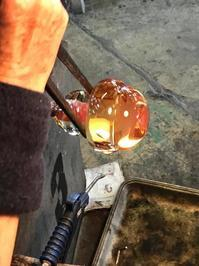 季節物 - 宙吹きガラスの器