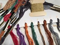 次の刺しゅう糸を準備しました - y-hygge