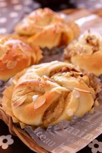 栗のパン。ふっくら系とハード系。 - 水戸市(茨城)のパン教室 Fika(フィーカ)  ~日々粉好日~