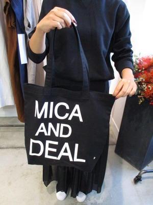 MICA&DEALエコBAGBLACK新登場11上 - 浜松のセレクトショップ サムディ & ディマンシュ