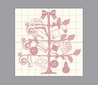 ソーイングモチーフツリーの続き - Atelier Chou