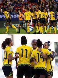 レゲエガールズ、サッカーのジャマイカ女子ナショナルチーム、ワールドカップへ!! - ジャマイカブログ Ricoのスケッチ・ダイアリ