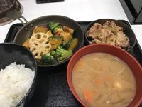 ベジ牛定食 @吉野家(多摩センター) - よく飲むオバチャン☆本日のメニュー