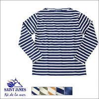 """SAINT JAMES [セントジェームス] OUESSANT """"BORDER"""" [ウエッソン """"ボーダー""""] バスクシャツ、ボーダーカットソー 長袖Tシャツ ボーダーロンTMEN'S/LADY'S - refalt blog"""