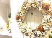 ドライフラワーのリースで雰囲気アップ - ルーシュの花仕事