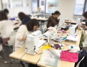 【ヴォーグ学園東京校布小物】午後講座の生徒さんの布小物作品も素敵に完成です♪ - neige+ 手作りのある暮らし