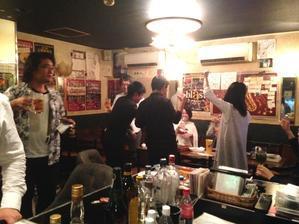 10月14日(日)その2:ブラパ打ち上げ?お誕生会 - 吹奏楽酒場「宝島。」の日々