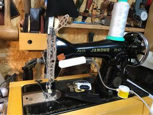ミシン縫い、縫い始めと縫い終わり。 - 俺のホビー!!ほぼシェリダンスタイルカービング(゚д゚)(。_。)ウン!