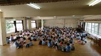 気分は遠足 - 笠間市 ともべ幼稚園 ひろばの裏庭<笠間市(旧友部町)>