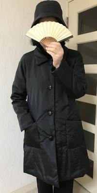 ラグラン袖のコート生徒の作品 - アトリエ A.Y. 洋裁教室
